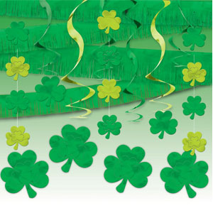 St. Pat's Day Giant Room Decorating Kit