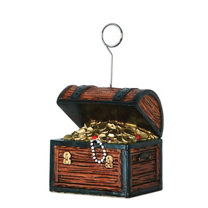 Treasure Chest Balloon Weight -6oz