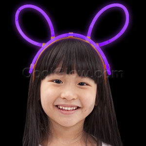 Glow Headband - Purple