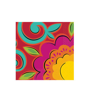 Caliente Beverage Napkins- 36ct