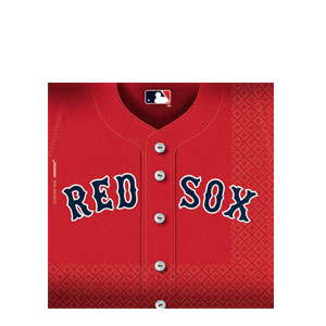 Boston Red Sox Luncheon Napkins- 36ct