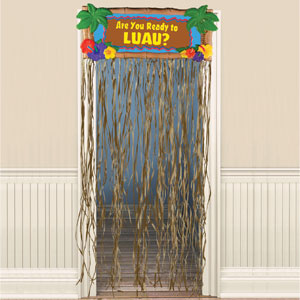 Luau Door Curtain- 72in
