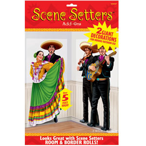 Mariachi Two Piece Scene Setter Add-Ons- 65in