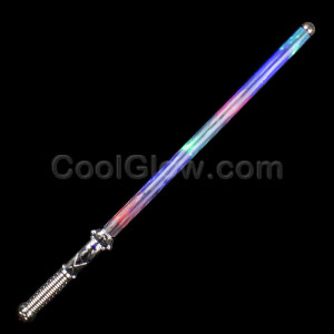 LED 27 Inch Strobing Rainbow Sword