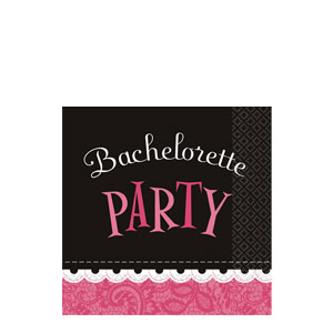 Bachelorette Party Beverage Napkins- 16ct