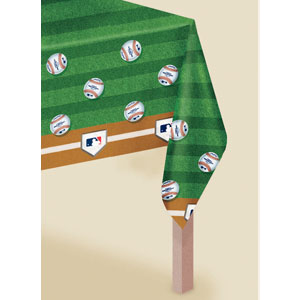 MLB Plastic Tablecover- 102in