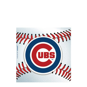 Chicago Cubs Beverage Napkins- 36ct