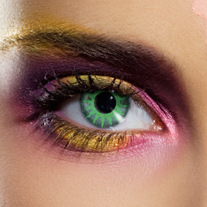 Novelty Contact Lenses - Basic Solar Green