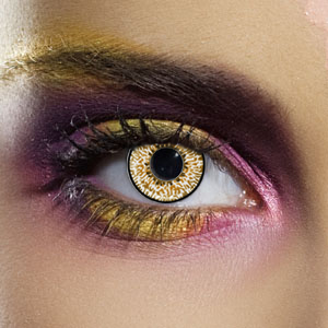 Novelty Contact Lenses - Hazel 3 Tone