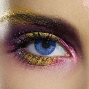 Novelty Contact Lenses - Blue Glimmer