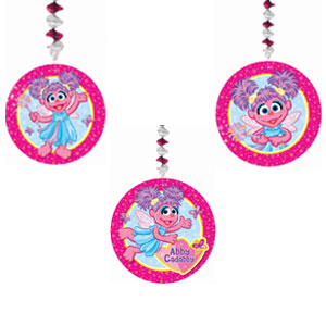 Abby Cadabby Dangling Cutouts- 3ct