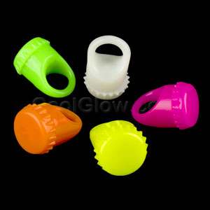 LED Jelly Bottle Cap Rings - Assorted
