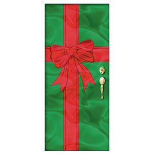 Christmas Gift Door Decoration- 78 Inch