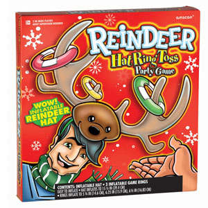 Reindeer Hat Ring Toss