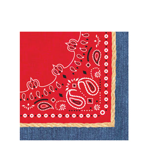Bandanarama Luncheon Napkins- 16ct