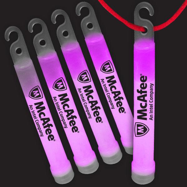 4 Inch Premium Glow Sticks - Pink