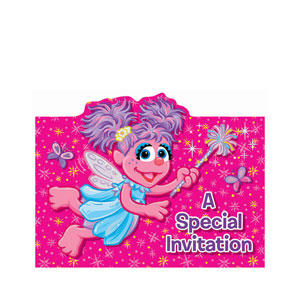Abby Cadabby Invitations- 16ct