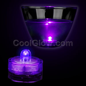LED Submersible Waterproof Deco Light - Purple