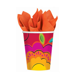 Caliente 9 oz. Cups- 18ct