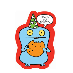 Ugly Doll Folded Invitations- 8ct