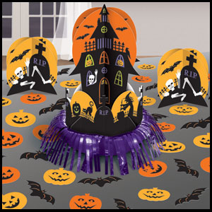 Haunted House Table Decorating Kit - 23ct