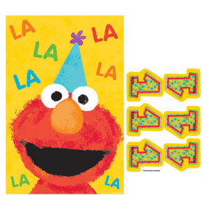 Sesame Street 1st Birthday Party Game