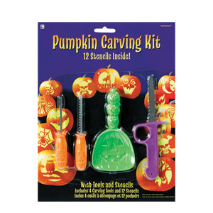Basic Pumpkin Carving Kit- 16pc