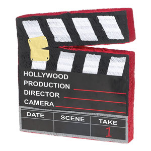 Director's Cut Clapboard Pinata- 23in