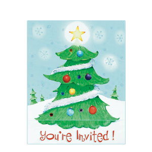 Sweet Tree Invitations - 8ct