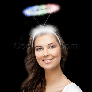 LED Angel Halo Headband - Multicolor