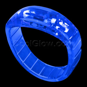 LED Bangle Bracelets - Blue