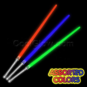 Fun Central X552 LED Light Up Light Saber 28 Inch - Assorted Colors