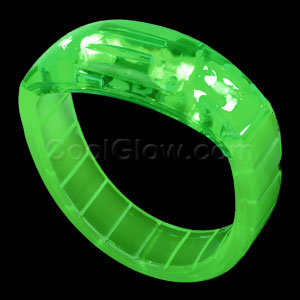 LED Bangle Bracelets - Green
