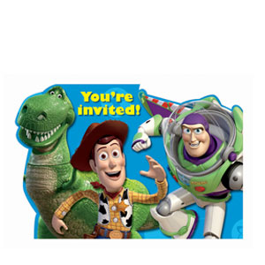 Toy Story 3 Invitations- 8ct