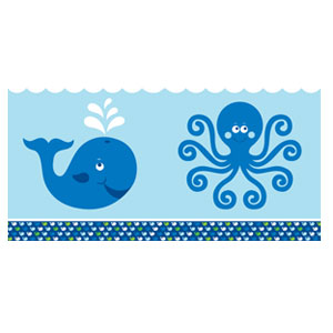 Ocean Preppy Tablecover - 108in