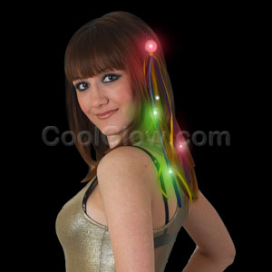 LED Ribbon Hair Extension - Multicolor