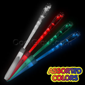 LED Fiber Optic Wand - Assorted