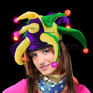 LED Jester Hat