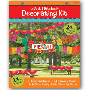 Fiesta Giant Decorating Kit- 4pc