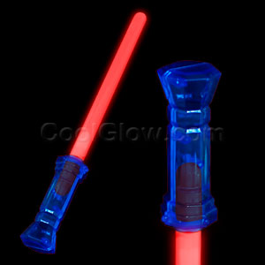 Glow Light Saber - Red