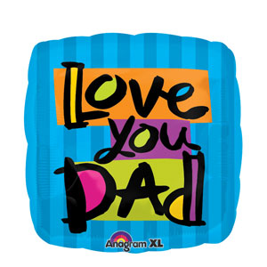Love You Dad Balloon- 18in