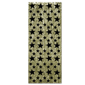 Star Gleam Curtains - Gold