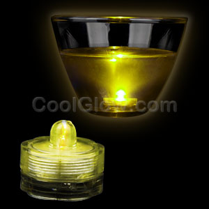 LED Submersible Waterproof Deco Light - Yellow