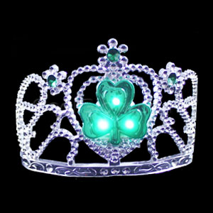 LED Shamrock Tiara