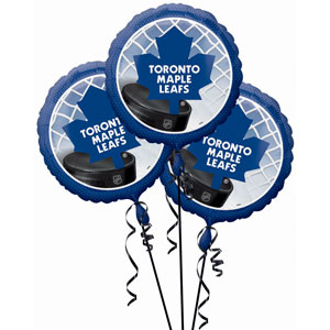 Toronto Maple Leafs 3 Pack Balloons- 18in