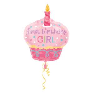 Sweet Little Cupcake Balloon - SuperShape