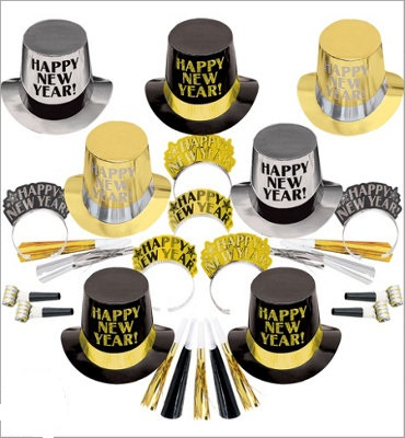 Get the Party Started BSG- New Years Party Kit for 25