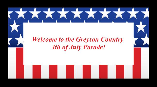 American Flag Border - Custom Invitations