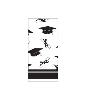 Grad Plastic Tablecover - White