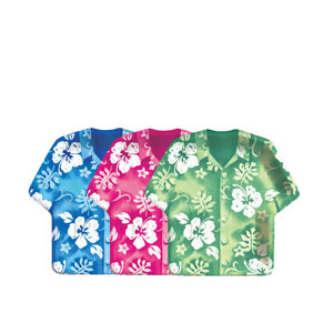Bahama Shirt 9 Inch Assorted Plates - 8ct